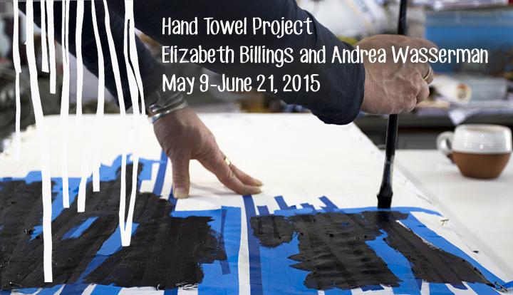 Hand Towel Project: Elizabeth Billings and Andrea Wasserman